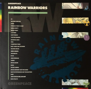 V/A - Greenpeace: Rainbow Warriors (LP) (G-VG/G-VG)